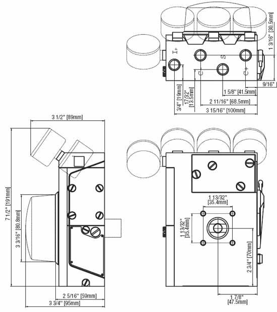 blx v100p  v100e valve positioners