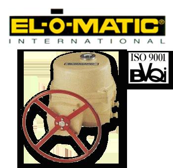 El-O-Matic EL 1200, 2500 Series Electric Rotary Valve