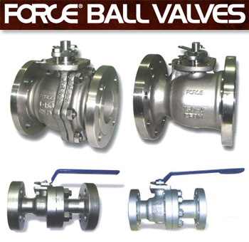 Force Floating Ball Valves