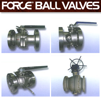 Force Metal Seated Ball Valves