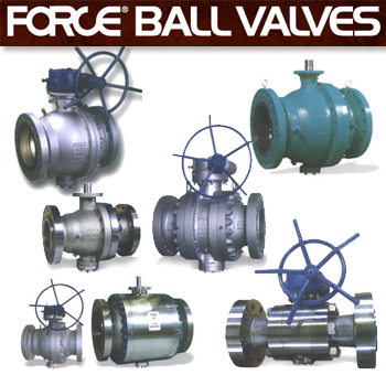 Force Trunnion Mounted Ball Valves