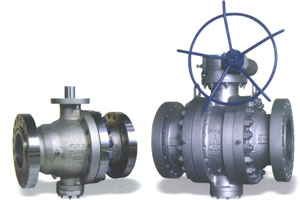 Trunnion Mounted Ball Valve ANSI 900/1500