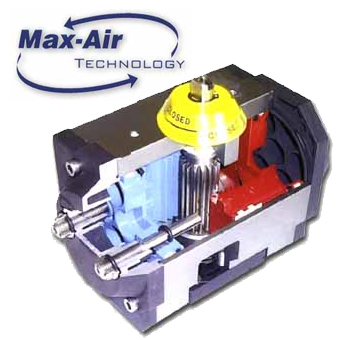 Max-Air Rack & Pinion Acutator