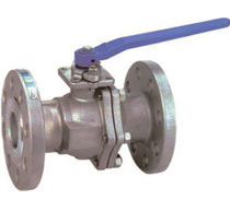 300# 2-piece Flanged End Industrial Ball Valves