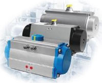 Allied Flow Control Pneumatic Rack & Pinion Rotary Actuators